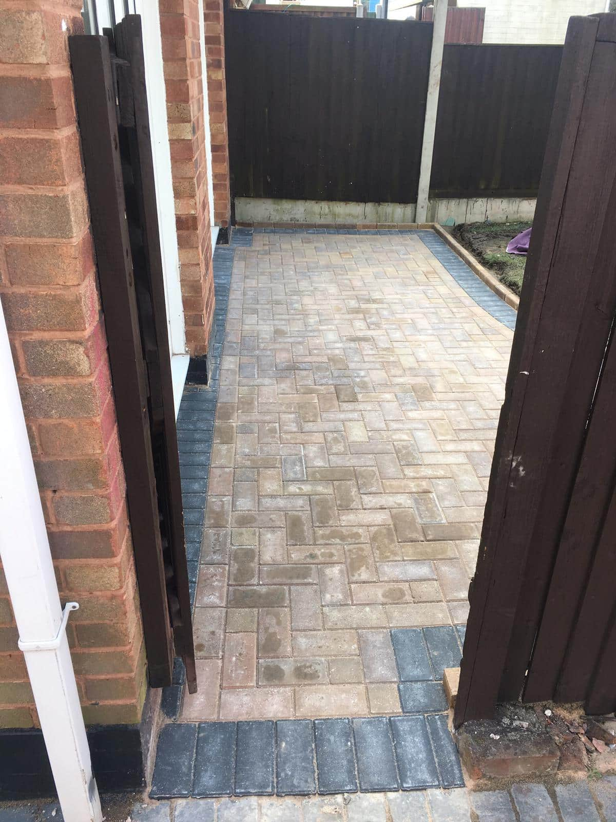 Block Paving Patio in Littleover, Derby